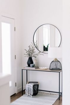 Projects – black interior design inspiration and modern lighting ideas from … – Living Room Designs Black Interior Design, Interior Design Inspiration, Modern Interior, Interior Rugs, Bedroom Inspiration, Room Interior, Interior Ideas, Decoration Ikea, Entryway Decor