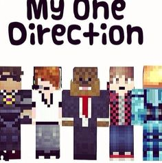 A few of the teamcrafted members :) and yes they are better than one direction :D <3