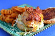 The Savvy Kitchen: Cheesy BBQ Chicken Sandwich with Bacon