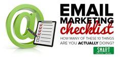 Email Marketing Checklist - Smart Passive Income