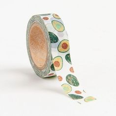 Add a bit of flavor to your crafting with this roll of avocado washi tape. A fun addition to cards, gifts, scrapbooks, planner décor and more! Tear by hand and reposition as needed. Washi Tape Crafts, Paper Crafts, Washi Tapes, Avocado Gifts, Cool School Supplies, Cute Avocado, Stationary Supplies, Planner Decorating, Crafts For Teens