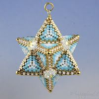Le gioie di Happyland - patterns: Tetrahedron Star