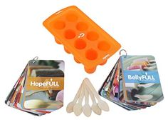 HopeFULL Silicone PopsicleIceCake Mold Tray  Combo Kit -- Learn more by visiting the image link.