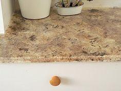 DIY - painting laminate countertops