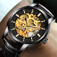 WISHDOIT Men's Watches Top Luxury Brands Men Business Automation Mechanical Watch Waterproof Leather Watchs Military Male Clock. Yesterday's price: US $25.99 (21.23 EUR). Today's price: US $25.99 (21.11 EUR). Discount: 80%.