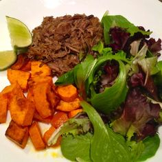 Whole 30 Cuban Pork and Sweet Potatoes
