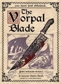 Vorpal Blade - American McGee's Alice