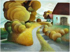 Josip Falica, artiste peintre contemporain croate naïf