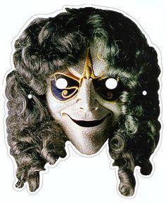 doctor who printable masks | Doctor Who Mask Clockwork Robot |