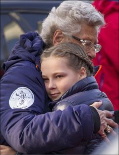 Princess Astrid of Norway and princess Ingrid Alexandra at the FIS Nordic World Cup on 15.03.2015 in Oslo, Norway