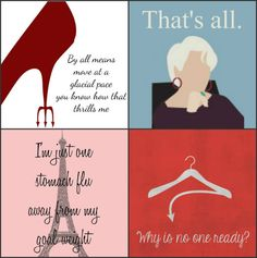 The Devil Wears Prada by FamousQuosters on Etsy