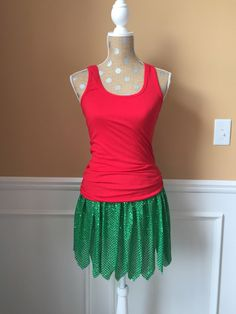 LILO and Stitch inspired running skirt/costume Green tropical hula skirt by Fit4aPrincessShop on Etsy https://www.etsy.com/listing/240419723/lilo-and-stitch-inspired-running
