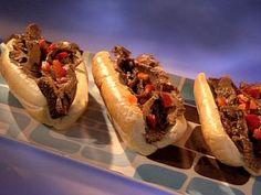 Chicago Italian Beef Sandwich #GuysBigBite #GuyFieri