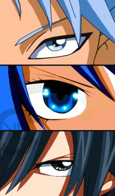 Lyon,Juvia,Gray by nina2119.deviantart.com on @deviantART