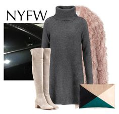 """""""NYFW"""" by icatchurdream ❤ liked on Polyvore featuring A.L.C., Madeleine Thompson, Gianvito Rossi and Sole Society"""