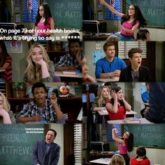 "I LOVED THIS. I loved how Sabrina (Maya) was like ""Riley, look! That's what i wanted to ask about!😂"" and everyone else's faces (Ben Savage) were THE BEST"