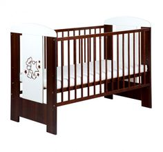Patut fara sertar KLUPS Teddy with Stars Venghe + Saltea 8 Baby Cribs, Baby Room, House Design, Stars, Modern, Outdoor Decor, Furniture, Home Decor, Trendy Tree