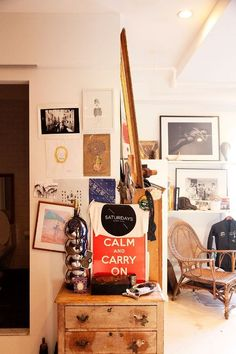 Eclectic mix. House Decor.