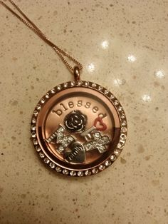 Love it!! #Origami Owl #Rose Gold #Locket #Charms--Host a party contact me Sabrina Stearns Independent Designer #44379, Origami Owl at: dreamcreteinspirebelieve@gmail.com shop at http://dreamcreateinspirebelieve.origamiowl.com