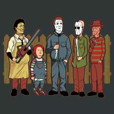 King of the Hill horror mash up. Love love love love love!!