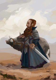 Fantasy Dwarf, Fantasy Rpg, Medieval Fantasy, Fantasy Races, High Fantasy, Fantasy Warrior, Fantasy Character Design, Character Concept, Character Art