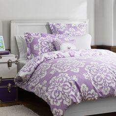 A light purple room
