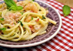 Crozets in Beaufort - Healthy Food Mom Spagetti Recipe, Gourmet Recipes, Healthy Recipes, Hungarian Recipes, Gnocchi, Food Print, Bacon, Spaghetti, Kitchens