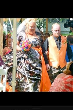 Honey boo boo child's parents wedding!! Life made.