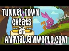 Tunnel Town Cheats and Codes. The Best Animal Jam iPod Game Guide from AnimalJamWorld.com Animal Jam Codes, Fun Games For Kids, Game Guide, Cheating, Animals And Pets, Ipod, Coding, Awesome, Board