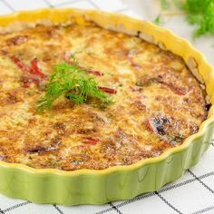 Big And Small, Quiche, Food And Drink, Treats, Baking, Dinner, Breakfast, Recipes, Koti