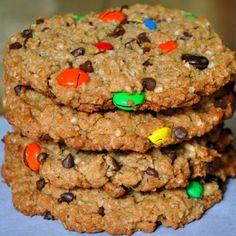 Marijuana Monster Cookies