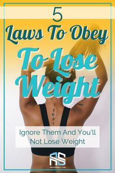 If someone is claiming there's a weight loss secret, run.  If some company is claiming they have a quick fat loss solution, run. If you're being made to feel bad about your diet in order to convince you to purchase something, RUN. There are no secrets to losing weight. Only fundamentals. This article goes over 5 fundamentals that will help you lose weight. #loseweight #weightloss #diet