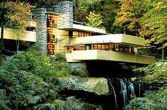 Frank Lloyd Wright: Fallingwater, Pennsylvania