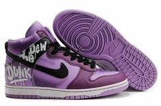 Purple on point