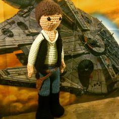 My Crochet Amigurumi Doll version of Han Solo.