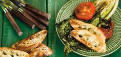 Salade de laitue romaine grillée au barbecue Recettes | Ricardo