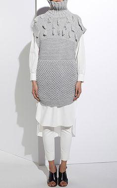 Apiece Apart - Ines Fringe Multi Stitch Vest