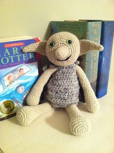 INP- Oh My!! Crochet Dobby!!!  Love this doll! geek-things