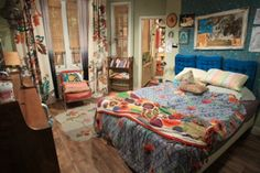 Max's Apartment on Two Broke Girls