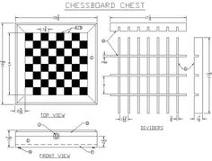 Chessboard Dimensions | Build a Chessboard Chest from Lee's Wood Projects - Free Woodworking ...