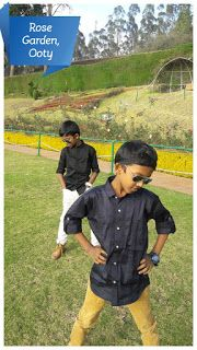 Travel with us: Government  Rose Garden, Ooty
