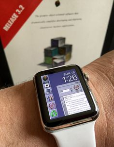 NeXTSTEP Apple Watch face | Bitmap is here: www.flickr.com/p… | Flickr