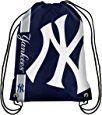 Amazon.com : MLB New York Yankees 2015 Drawstring Backpack, Blue : Sports & Outdoors