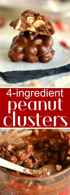 These Four Ingredient Peanut Clusters are just what the busy holiday cook needs! Made with chocolate and butterscotch chips for a creamy and delicious flavor! Great for gifts, parties and more! | eBay