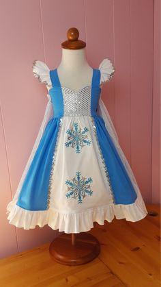 Elsa Inspired Girls Toddler Disney Everyday Princess Dress, Sizes 12 months to 12 Girls Disney Elsa Dress, Princess Elsa Dress, Disney Dresses, Princess Cut, Kids Party Wear Dresses, Cute Dresses, Girls Dresses, Flower Girl Dresses, Toddler Dress