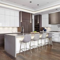 Sky High Ceilings And TWO Caesarstone Colors?! Thatu0027s Right, Design Theory  CA