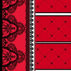 Laced Edge 2 fabric by jadegordon on Spoonflower - custom fabric