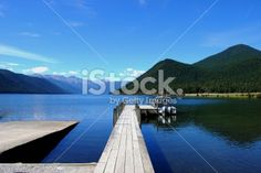 Lake Rotoroa, Nelson Lakes National Park, NZ Royalty Free Stock Photo Deep Photos, Image Now, Nature Photos, Lakes, Waterfall, National Parks, Scenery, Royalty Free Stock Photos, Landscape
