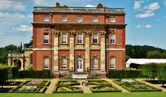 Clandon park - in Surrey, England, designed by Venetian architect Giacomo Leoni and built c. 1730.