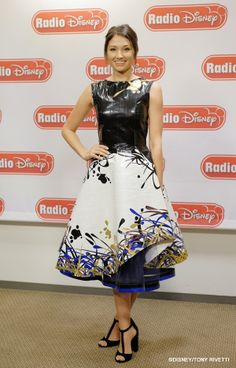 Maddy revealing her Duck Tape dress for the RDMAs